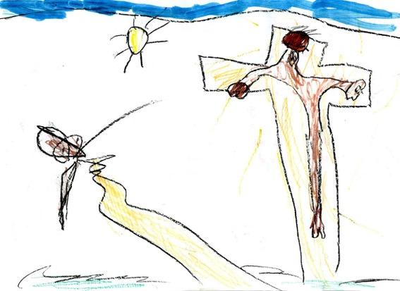 Croix la grosse lumière