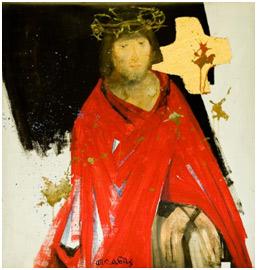 © Arcabas le Christ torturé par les soldats