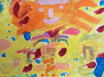 La joie, par les Grandes Sections de la maternelle du Carm