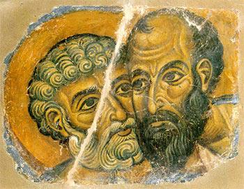 visages Pierre et Paul