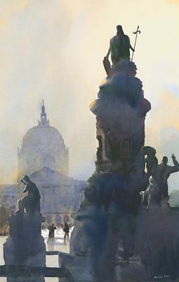 """""""Flood Fountain"""" by Michael Reardon"""
