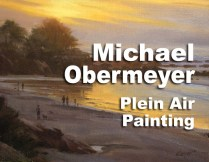 Michael Obermeyer Plein Air Painting in Carmel, CA March 2017 http://www.carmelvisualarts.com/michael-obermeyer/ — at Carmel Visual Arts.