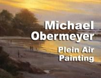 Michael Obermeyer Plein Air Painting in Carmel, CA March 2017 http://www.carmelvisualarts.com/michael-obermeyer/ — at Carmel Visual Arts.