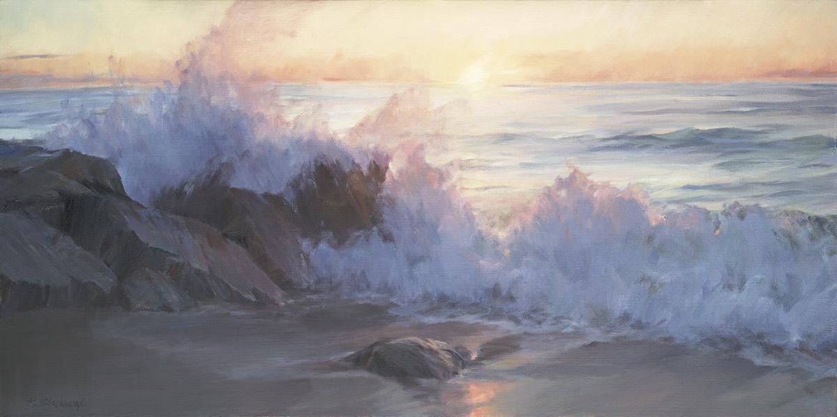 Sunrise 18x36