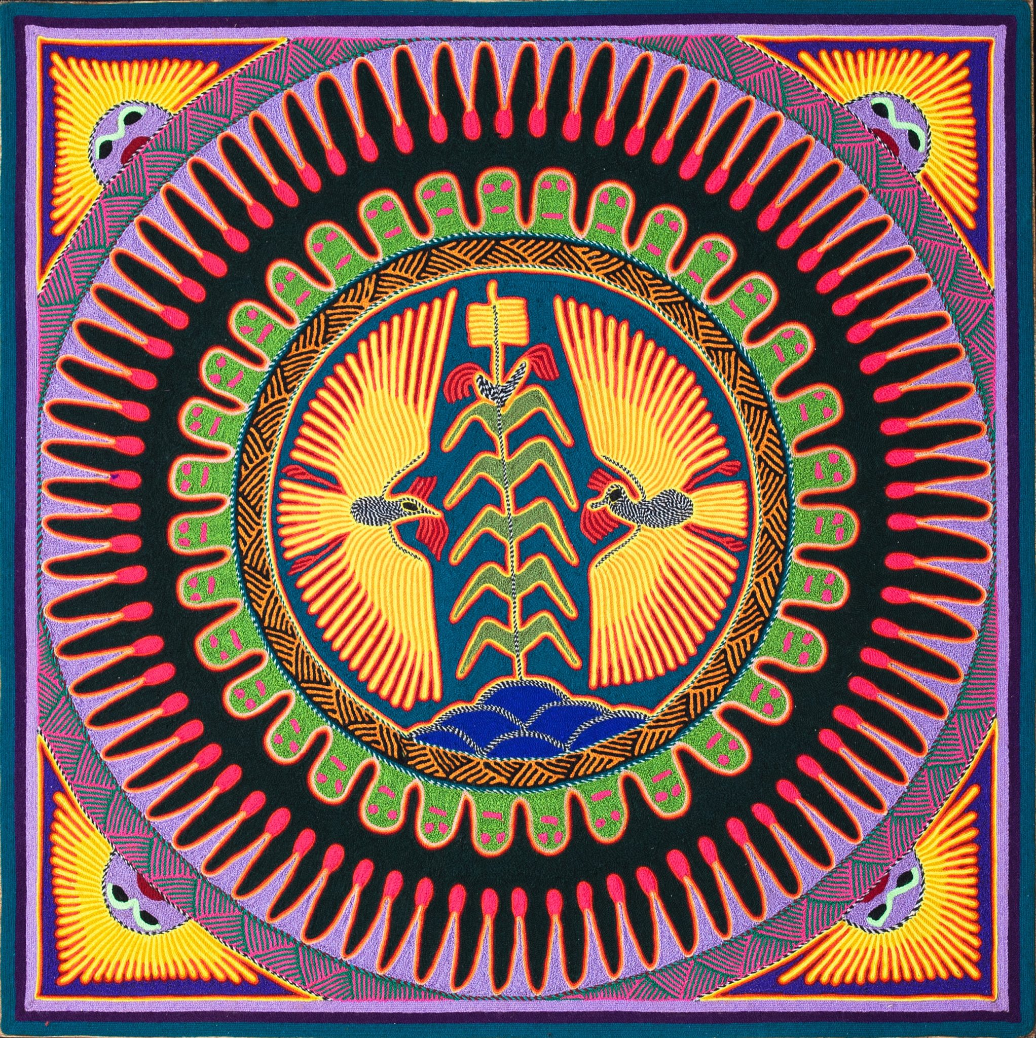 huichol-yarn-painting-9-eagles-corn