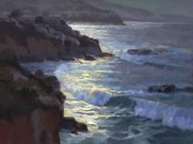 Jim Wodark Moonlit Surf