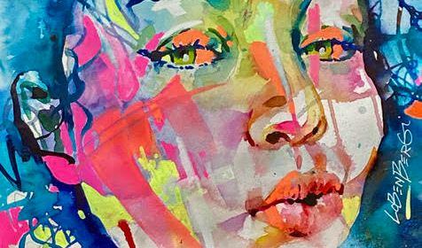 Artist Spotlight: David Lobenberg — Watercolor Portrait Artist