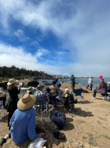 Jim McVicker demo at Point Lobos State Reserve