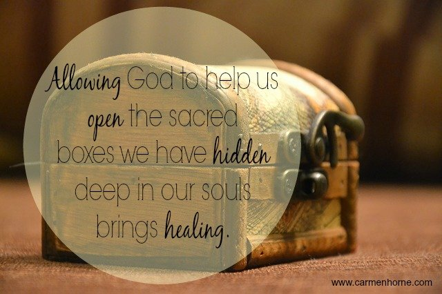 Because Pouring Out to God is Safe pic