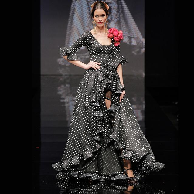 Vestidos flamenca en negro