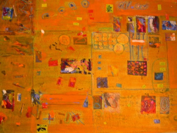 11-Getting-the-Hang-of-It-Mixed-media-on-paper-22-x-30-in.