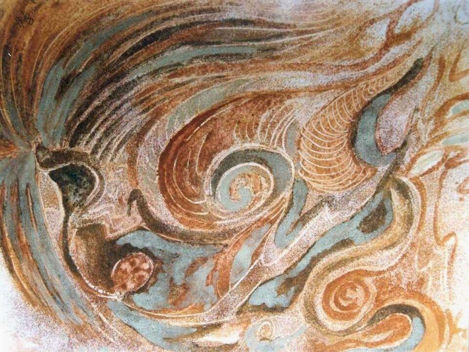 terre e resine naturali su carta - 40 x 30 cm - 1998