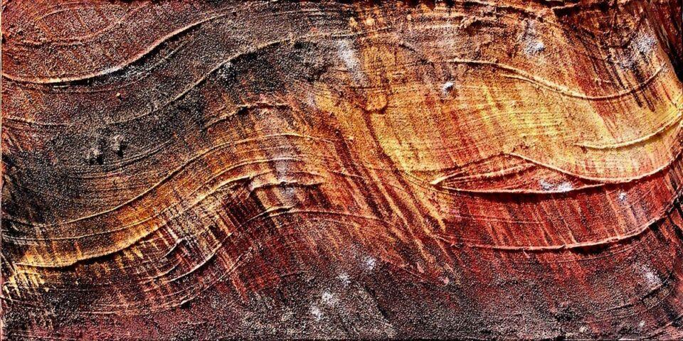 terre e sabbia su tela - 60 x 130 cm - 2006