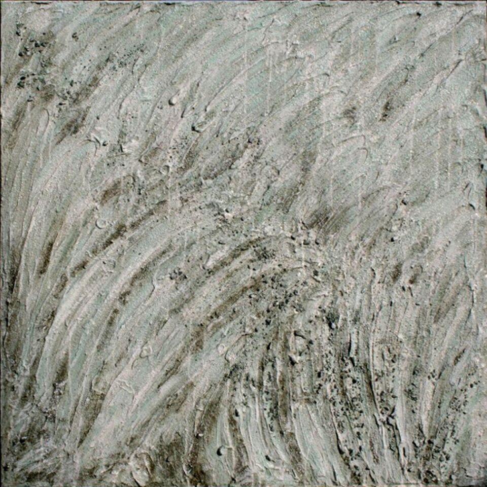 terre e resine naturali su tavola - 100 x 100 cm - 2011