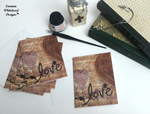 Love Note Cards - Carmen Whitehead Designs