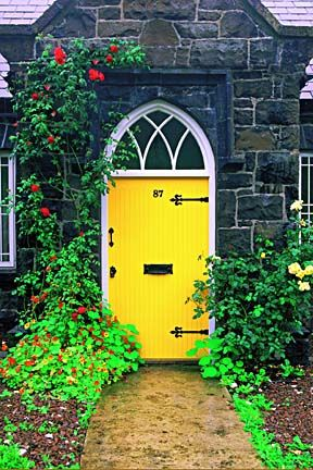 Colorful Doors around the world - Carmen Whitehead Designs