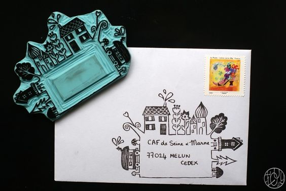 Unique Mail Art