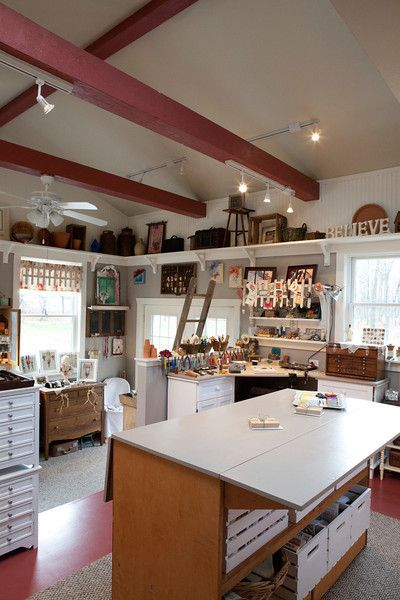 10 More Inspiring Creative Space - Carmen Whitehead Designs