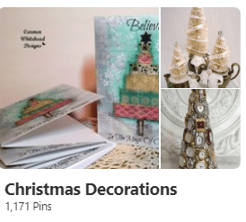 Christmas Decorations - Carmen Whitehead Designs