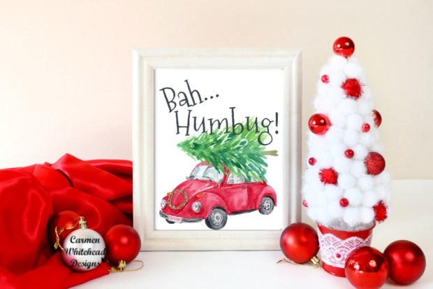 Bah...Humbug | Christmas Collection 2018 - Carmen Whitehead Designs