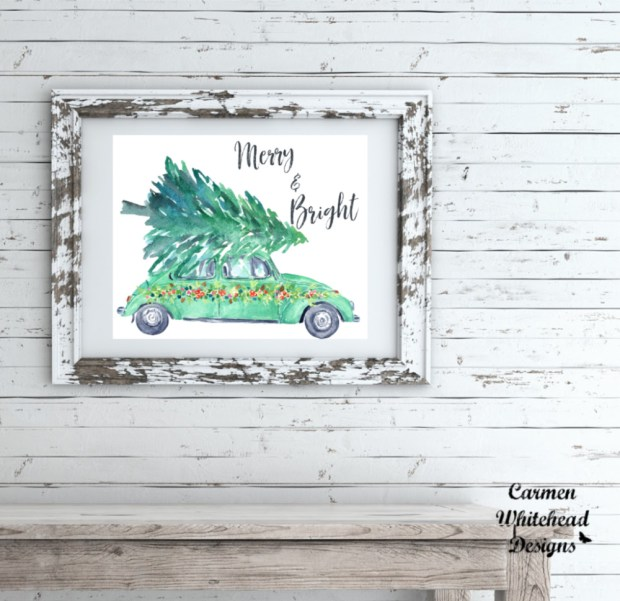 Merry and Bright | Christmas Collection - Carmen Whitehead Designs