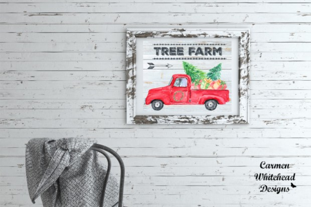 Tree Farm | Christmas Collection - Carmen Whitehead Designs