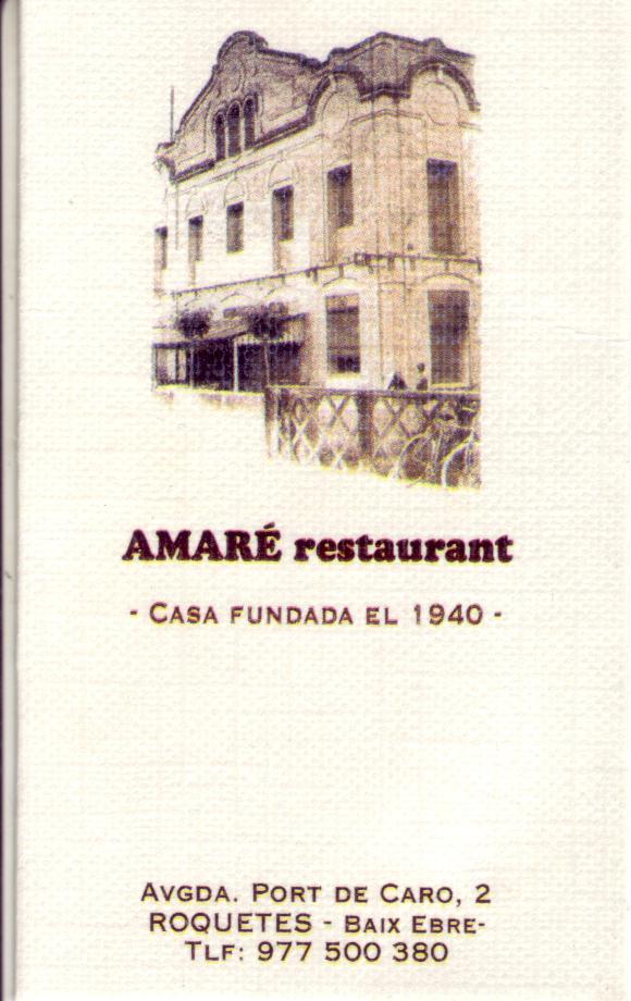 Restaurant Amaré