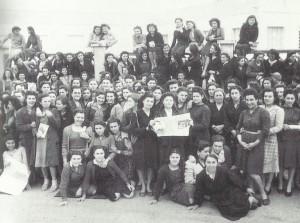 San Giovanni in Persiceto: manifestazione contro i licenziamenti alla Filatura Zoni (1948)