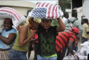 Haiti food aid