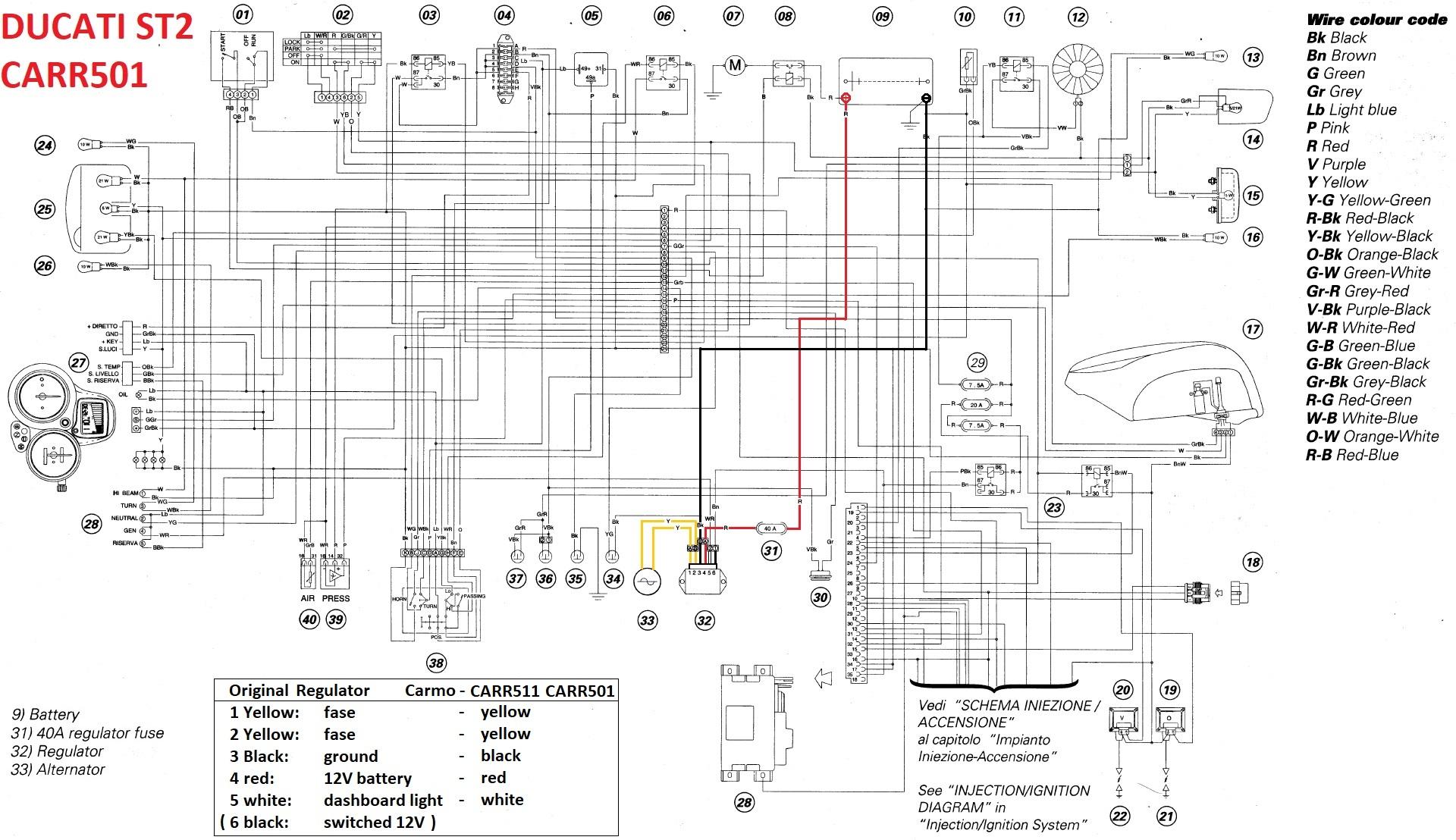 Ducati St2 Wiring Diagram Wiring Diagram