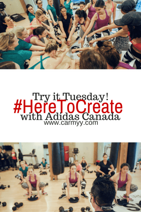 #HereToCreate with Adidas www.carmyy.com