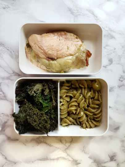Pesto Prosciutto Stuffed Chicken