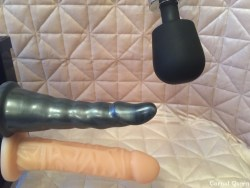 Motion Love Wand Holder and Double Penetrator.