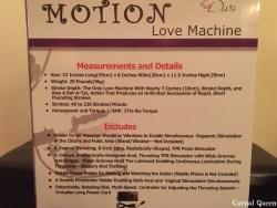 Motion Love Measurements.