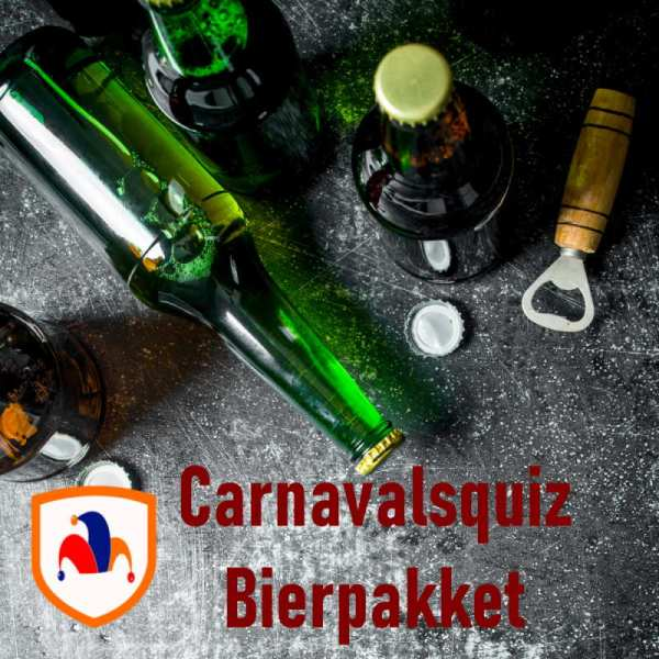 Bierpakket carnaval carnavalsquiz