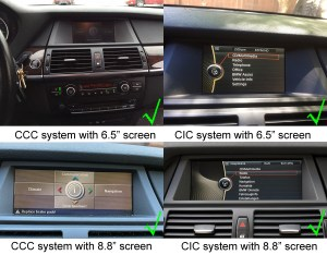 BMW X5(E70) X6(E71E72) Navigation Head Unit