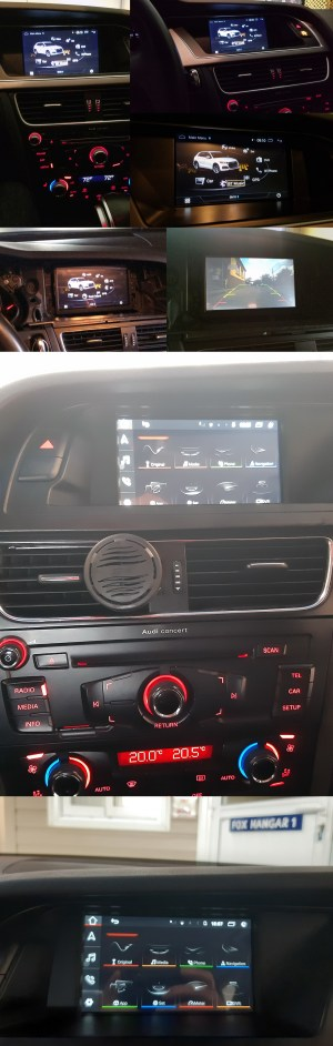 Audi Q5 GPS Navigation Car Stereo (20082016)