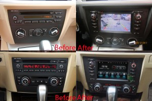 BMW 3 SeriesM3(E90 E91E92E93) GPS Navigation Head Unit