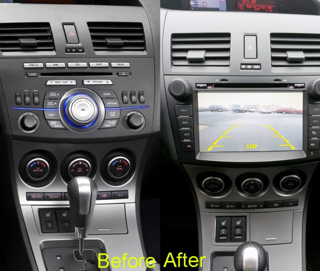 Mazda 3 Android Aftermarket Navigation Autoradio