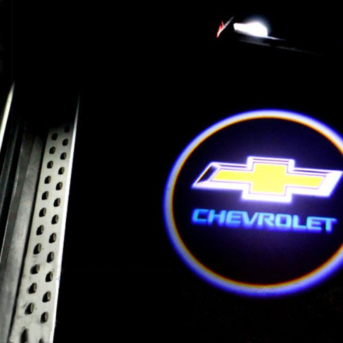 CHEVROLET Door logo lights