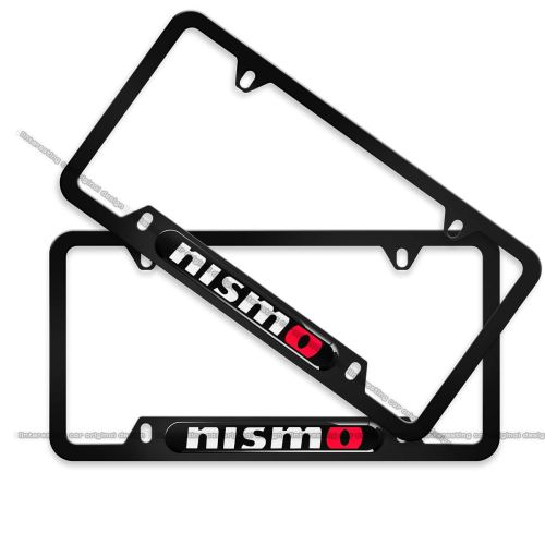 2-Pieces High-Grade License Plate Frame for Nismo, License Plate Cover for Nissan