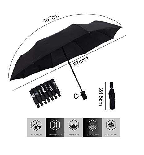 Auto Sport AUTO Open Large Folding Umbrella Windproof Sunshade with Car Logo (Nissan)
