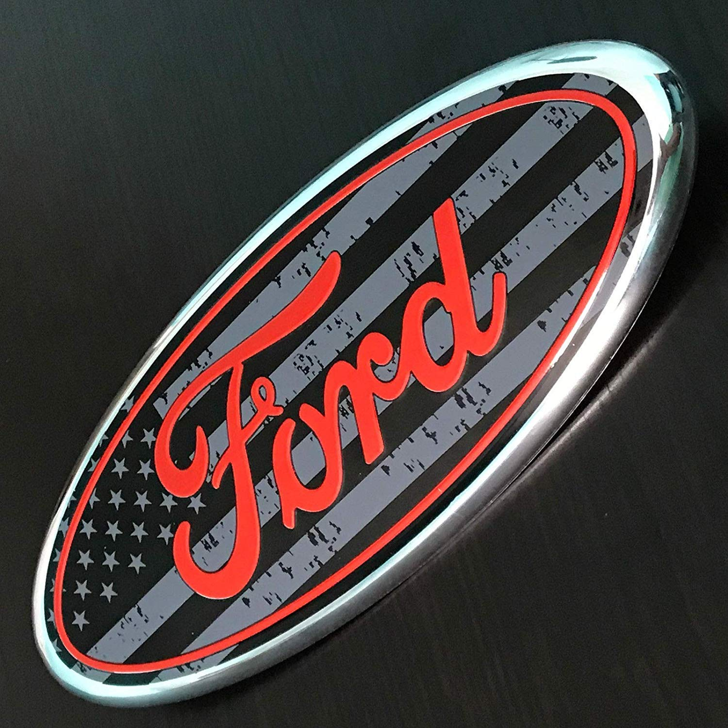 9 Inch logo FOR FORD F150 F250 Front Grille Tailgate Emblem Oval Badge Nameplate