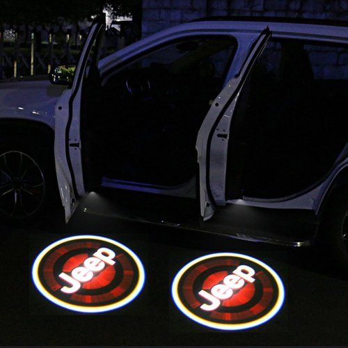 JEEP car door light projector