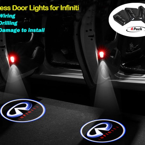 Infiniti door lights logo