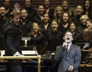 Jeremy Jordan with The New York Pops