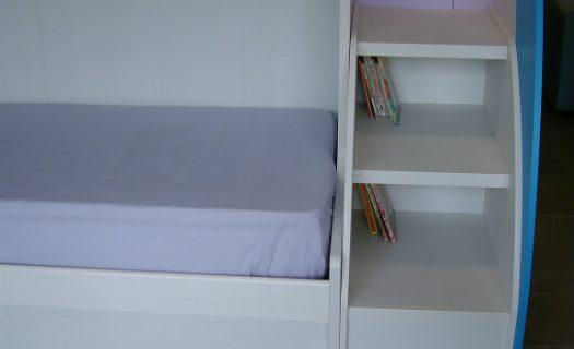 particolare scala a libreria