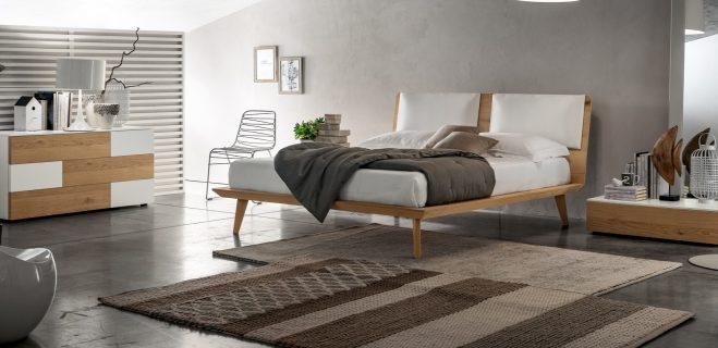 letto in legno modello talak cuscini_ s.lucia