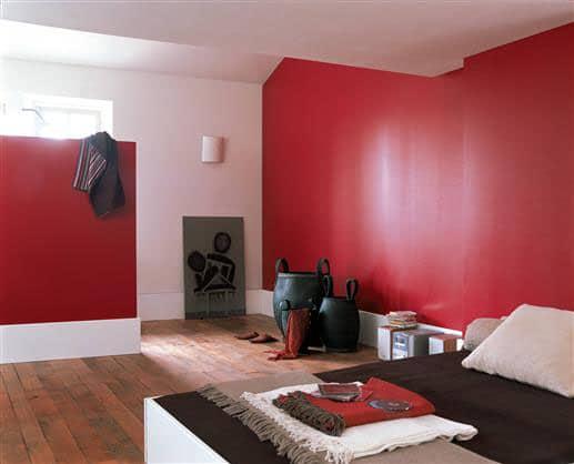 chambre rouge une decoration de style