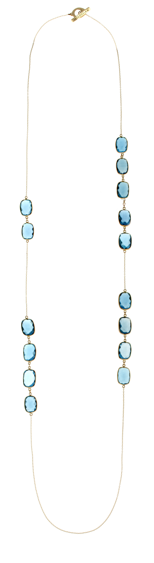 14K Gold Opera Collection with Blue Topaz (3)